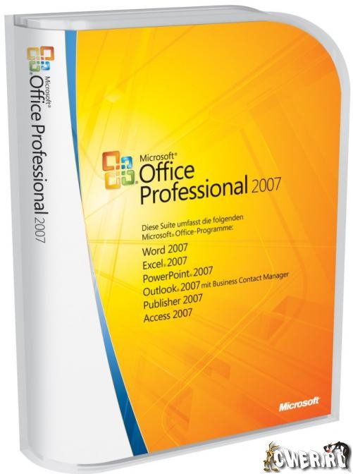 Microsoft Office Professional 2007 SP2 Rus