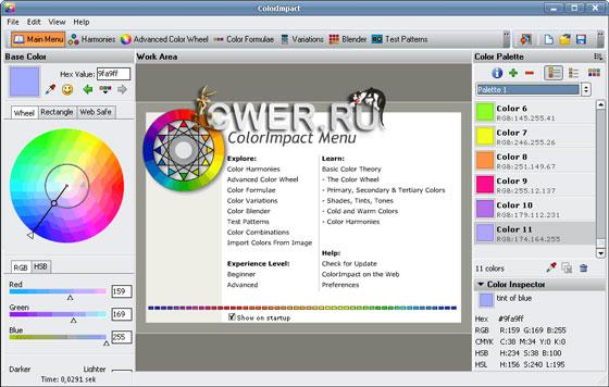Color Impact 4 Serial