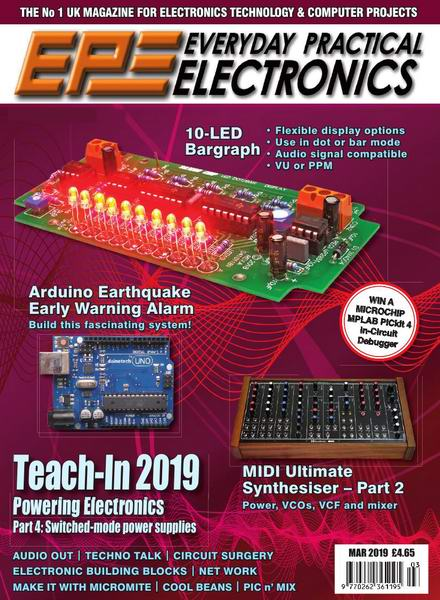 Everyday Practical Electronics №3 March март 2019