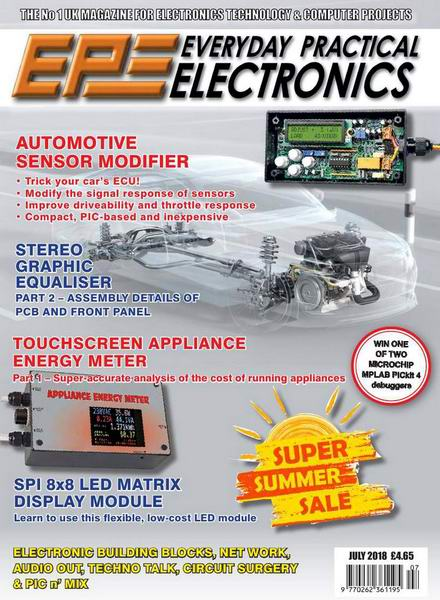 Everyday Practical Electronics №7 July июль 2018