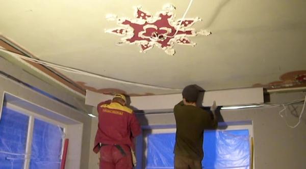 Гипсокартонные потолки видео уроки своими руками