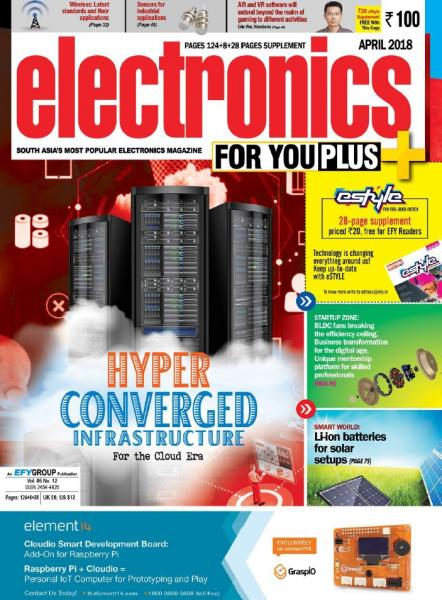 Electronics For You №4 (April 2018)