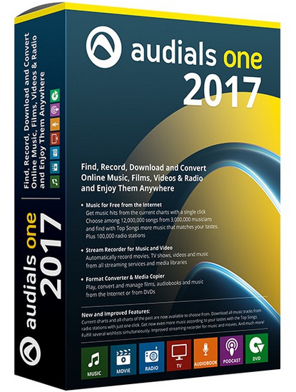 Audials One 2017.1.19.1800