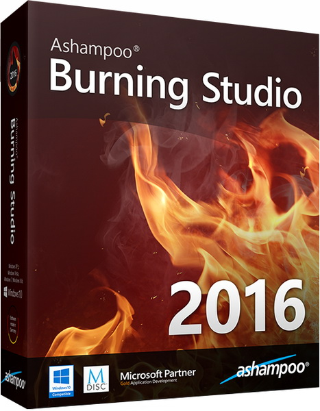 Portable Ashampoo Burning Studio 2016 16.0.0.17