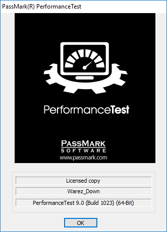 PassMark PerformanceTest 9.0 Build 1023