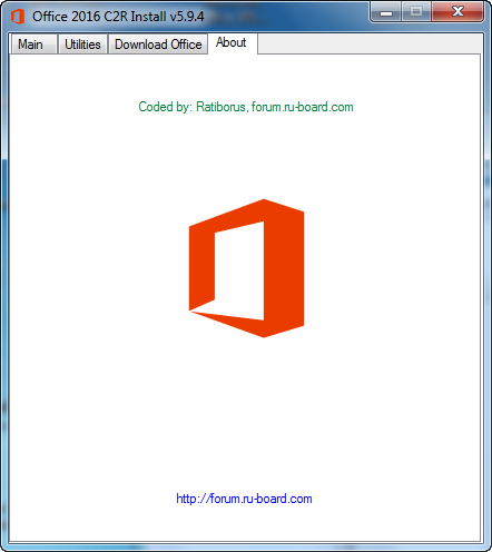 Microsoft Office 2013-2016 C2R Install 5.9.4 Full by Ratiborus