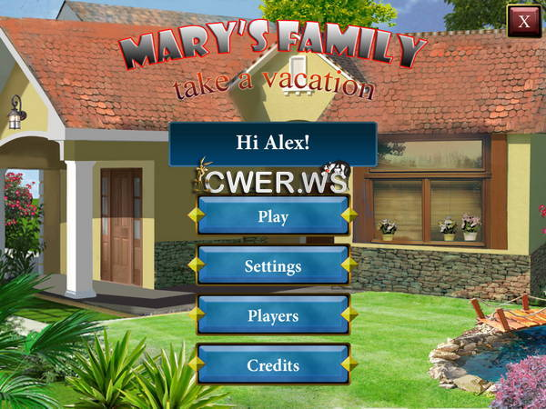 скриншот игры Mary's Family Take a Vacation