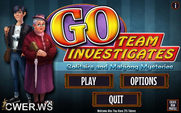 скриншот игры GO Team Investigates: Solitaire and Mahjong Mysteries