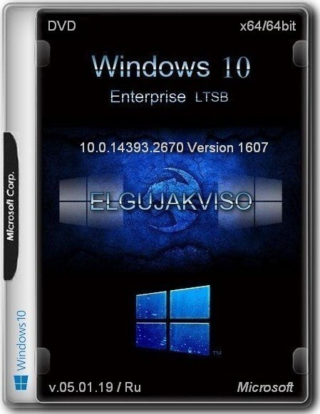 Windows 10 Enterprise LTSB Version 1607