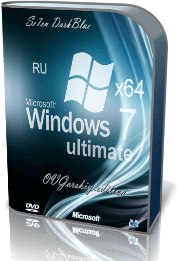 Microsoft Windows 7 Ultimate SP1 by OVGorskiy