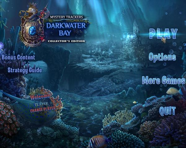 Mystery Trackers 15: Darkwater Bay Collectors Edition