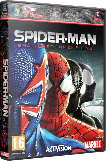 Spider-Man: Shattered Dimensions (2010/Repack)
